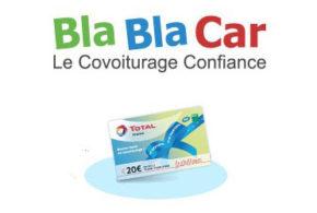 15€ de carburant ou 30€ de lavage offerts avec BlaBlaCar