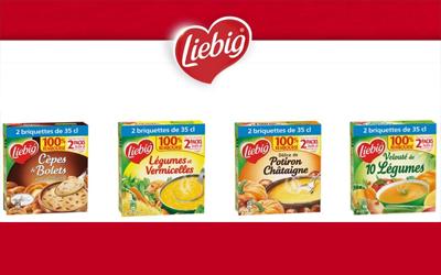 2 Soupes Liebig 2X35CL 100% Remboursé