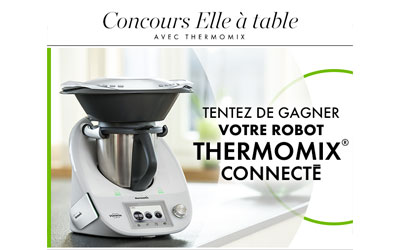 concours gagnez un robot de cuisine thermomix connect. Black Bedroom Furniture Sets. Home Design Ideas