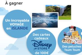 Concours gagnez un voyage pour 4 en Islande en hôtel 4