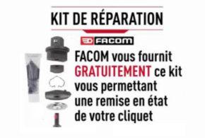 Kit gratuit de réparation Facom