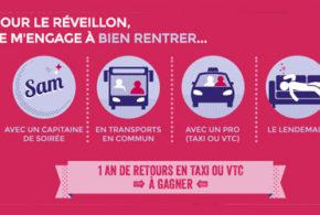 Concours gagnez un an de retours en taxi ou VTC