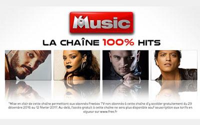M6 Music en clair