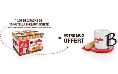 Mon Mug Nutella offert