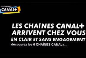 Toutes les chaînes Canal+ offertes