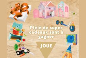 Concours gagnez 1 bon d'achat Berceau-magique de 50 euros