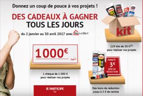 Concours gagnez 1 chèque de 1000 euros