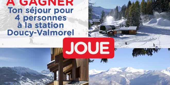 Concours gagnez 1 séjour au ski d'une semaine en famille à Doucy Valmorel