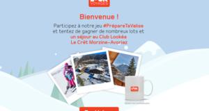 Concours gagnez 1 séjour d'une semaine pour 2 au Club Lookéa Morzine Avoriaz