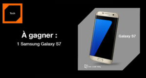 Concours gagnez 1 smartphone Samsung Galaxy S7
