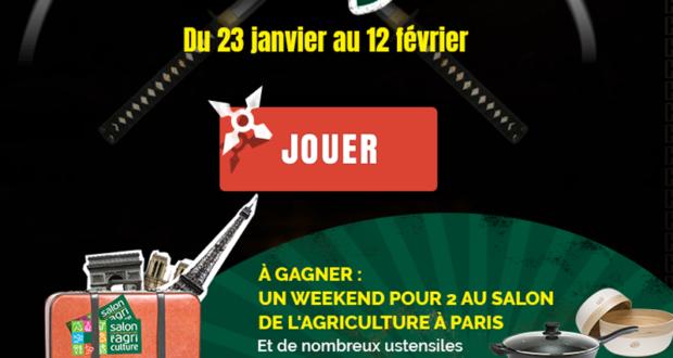 Concours gagnez 1 week end paris pour 2 personnes for Salon de l agriculture 2017 billet gratuit