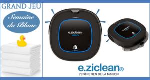 Concours gagnez 4 robots aspirateur laveurs hybride e.ziclean