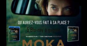 Concours gagnez 5 Blu-ray du film Moka