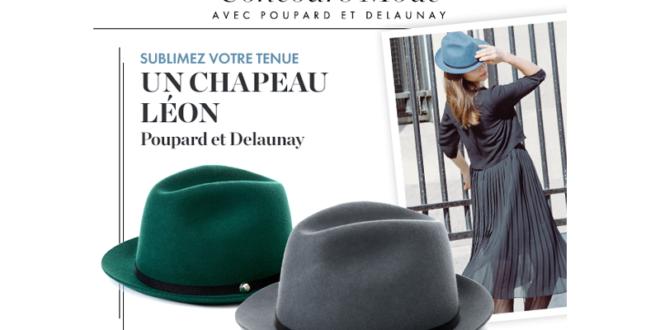 Concours gagnez 6 chapeaux Léon