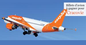 Concours gagnez des billets d'avion AR Genève Cracovie