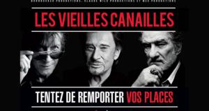 Concours gagnez des invitations pour le concert de Jacques Dutronc, Johnny Hallyday et Eddy Mitchell