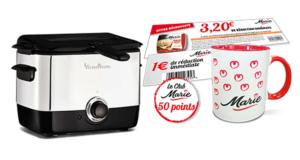 Concours gagnez une friteuse, caméra, appareils photo numériques