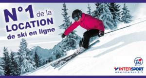 Concours gagnez une semaine de location de ski chez Intersport