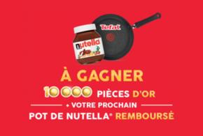 Nutella 100% remboursé