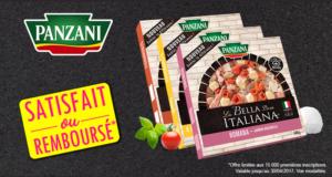 Pizza Panzani 400g 100% remboursé
