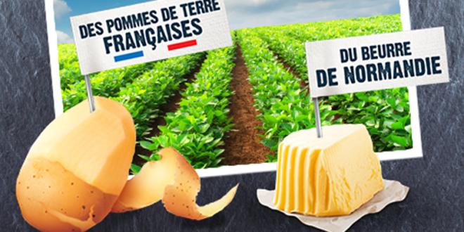Test produit, 2000 boîtes de Mousline® au Beurre de Normandie