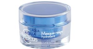 Test produit Masques Neige Hydratants Aquafocus