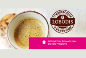 Échantillons gratuits, Café Lobodis