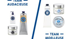 10 lots de 3 produits de soins L'occitane