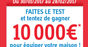 Concours gagnez 1 chèque de 10000 euros