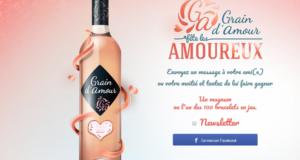 Concours gagnez 10 magnums de rosé Grain d'Amour