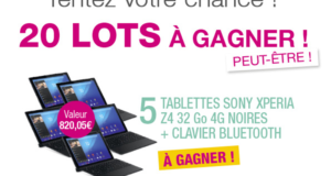 Concours gagnez 5 tablettes Sony Xperia