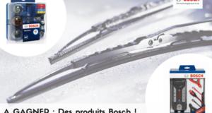 Concours gagnez des produits Bosch