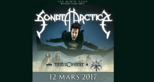 Invitations pour le concert de Sonata Arctica