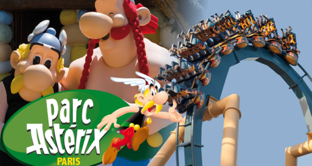 Parc Astérix gratuit pour les moins de 12 ans