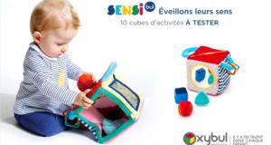Test produit, Le Cube d'Activités Cache-Cache d'OXYBUL