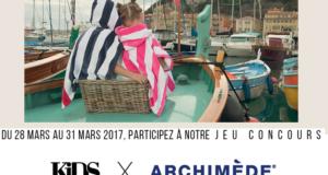 10 ponchos Archimède pour fille et garçon