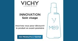 100 produits des Laboratoires Vichy à tester