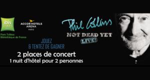 2 invitations pour le concert de Phil Collins