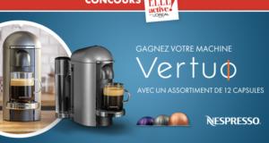 3 machine à café Vertuo Nespresso