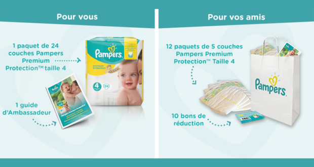 3000 testeurs des couches pampers premium protection - Reduction couches pampers a imprimer ...