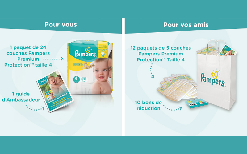 3000 testeurs des couches pampers premium protection - Bon de reduction couches pampers a imprimer ...
