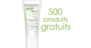 500 soins Bioderma Sébium à tester