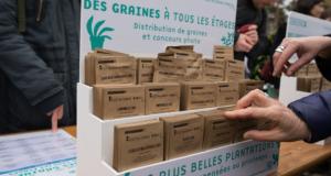 50000 sachets de graines gratuits à Paris