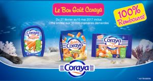 Divers produits Coraya 100% remboursés