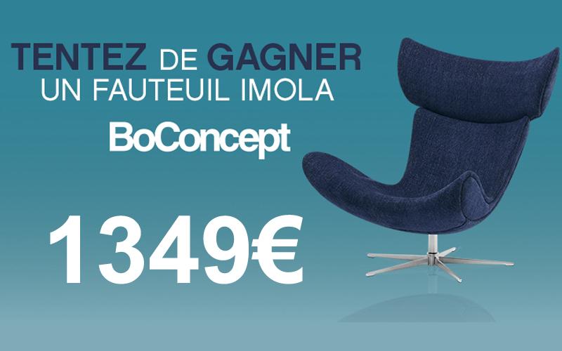 fauteuil boconcept de 1349 euros chantillons gratuits france. Black Bedroom Furniture Sets. Home Design Ideas