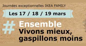 Ikea Reprise textile contre carte cadeau offerte