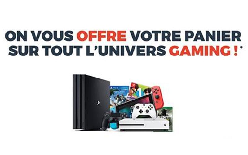 panier de produits gaming de 500 euros chantillons gratuits france. Black Bedroom Furniture Sets. Home Design Ideas