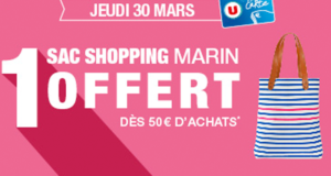 Sac shopping marin offert