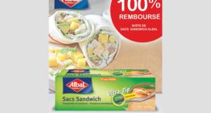 Sacs Sandwich Albal 100% remboursés