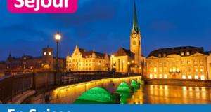 Séjour de 5 nuits pour 2 personnes en Suisse